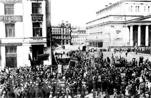 [ẢNH] Cách mạng Tháng Mười Nga - mốc mới trong lịch sử của nhân loại