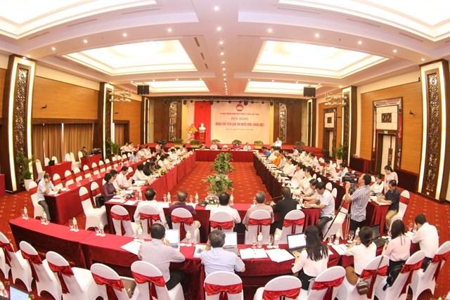 Khai mạc Hội nghị Đoàn Chủ tịch UBTƯ MTTQ Việt Nam lần thứ 14 - 1