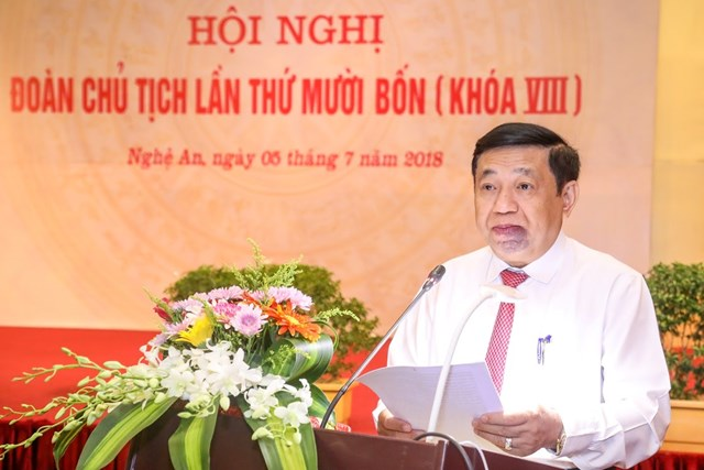 Khai mạc Hội nghị Đoàn Chủ tịch UBTƯ MTTQ Việt Nam lần thứ 14 - 11