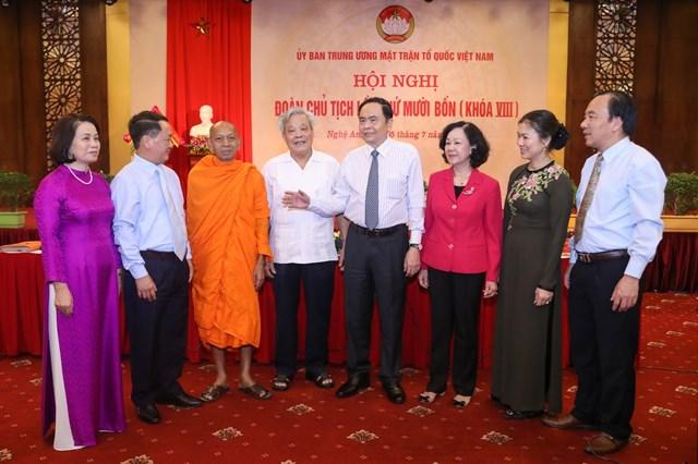 Khai mạc Hội nghị Đoàn Chủ tịch UBTƯ MTTQ Việt Nam lần thứ 14 - 2