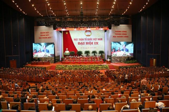 999 đại biểu chính thức tham dự Đại hội MTTQ Việt Nam lần thứ IX - 12