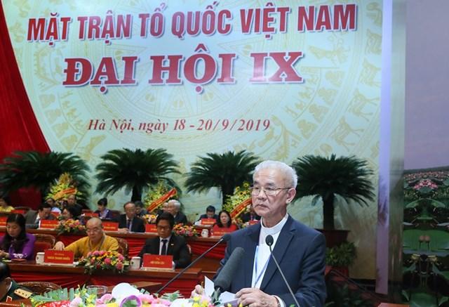 Đại hội đại biểu toàn quốc MTTQ Việt Nam lần thứ IX tiếp tục thảo luận một số nội dung quan trọng - 4