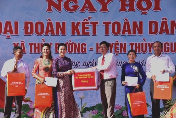 Hải Phòng: Tưng bừng Ngày hội Đại đoàn kết xã Thủy Đường, huyện Thủy Nguyên - 3