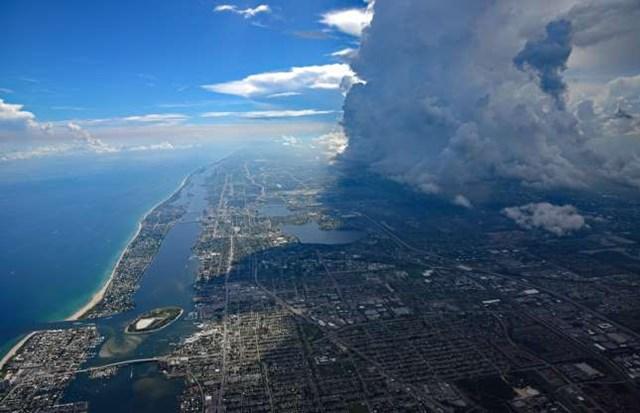 Những bức ảnh ấn tượng về thời tiết trên thế giới khi nhìn từ trên cao - 4
