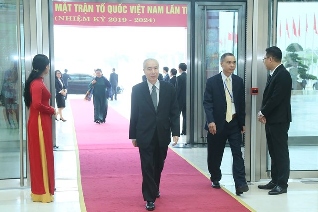 [ẢNH] Lãnh đạo Đảng, Nhà nước dự Khai mạc Đại hội toàn quốc MTTQ Việt Nam lần thứ IX - 6