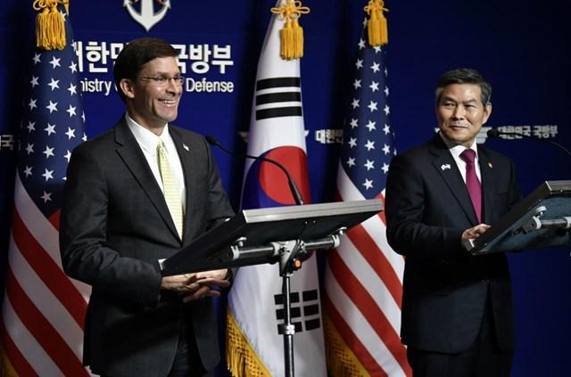 Mỹ - Hàn Quốc hoãn tập trận chung