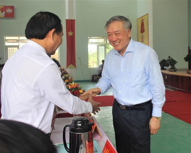 Chánh án Nguyễn Hòa Bình dự Ngày hội Đại đoàn kết tại Quảng Ngãi - 1
