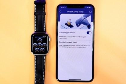 Trải nghiệm BIDV SmartBanking ngay trên đồng hồ Apple Watch - 4