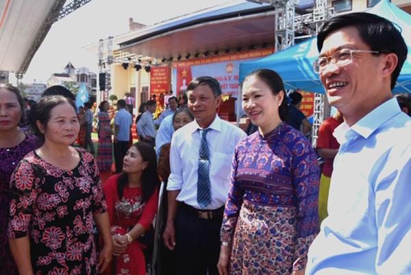 Hải Phòng: Tưng bừng Ngày hội Đại đoàn kết xã Thủy Đường, huyện Thủy Nguyên - 2