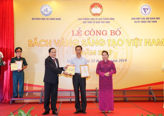 Vinh danh 74 công trình tiêu biểu trong Sách vàng Sáng tạo Việt Nam năm 2019 - 4