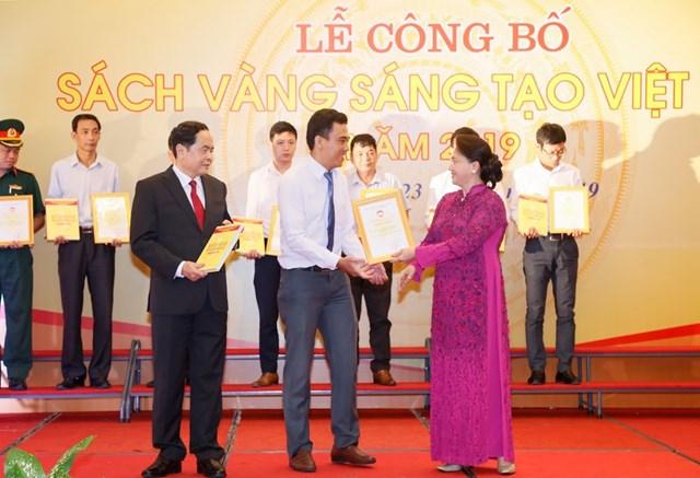 Vinh danh 74 công trình tiêu biểu trong Sách vàng Sáng tạo Việt Nam năm 2019 - 6