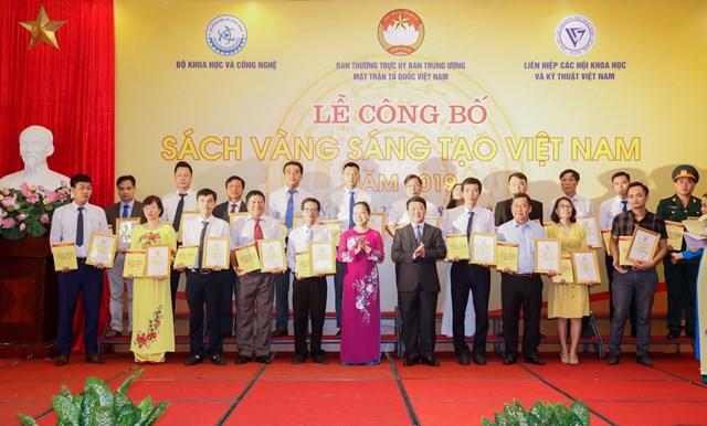 Vinh danh 74 công trình tiêu biểu trong Sách vàng Sáng tạo Việt Nam năm 2019 - 8