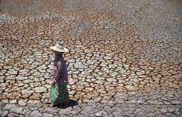 Nước sông Mekong xuống thấp nhất trong vòng 60 năm