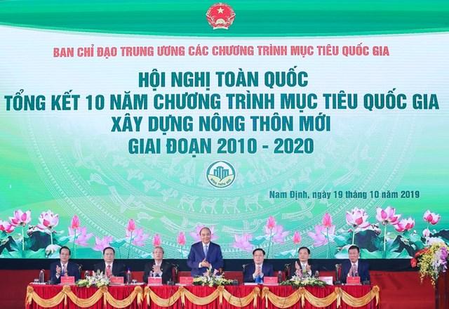 BẢN TIN MẶT TRẬN: Chủ tịch Trần Thanh Mẫn dự Hội nghị toàn quốc tổng kết 10 năm xây dựng nông thôn mới giai đoạn 2010-2020