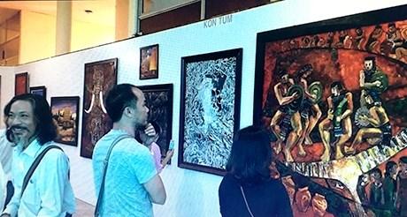 Khai mạc triển lãm mỹ thuật Nam miền Trung - Tây Nguyên lần thứ 24