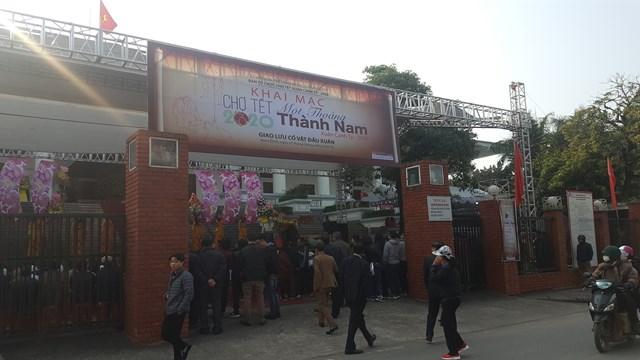 Nam Định: Tái hiện chợ Tết xưa cổ truyền
