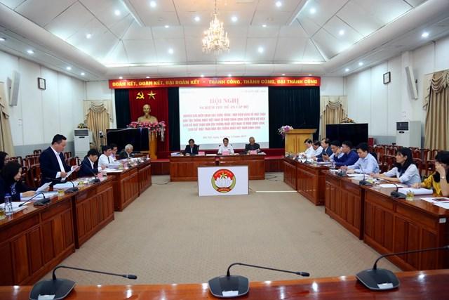 Nghiệm thu Đề tài về lịch sử Mặt trận Dân tộc Thống nhất Việt Nam - 3
