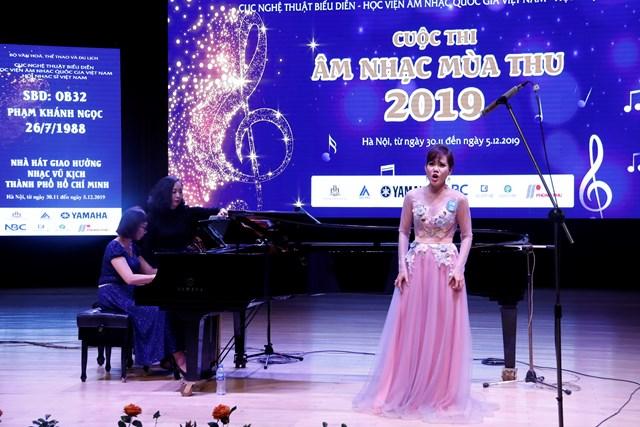 Cuộc thi âm nhạc mùa thu 2019: Một hoạt động nghề nghiệp ý nghĩa