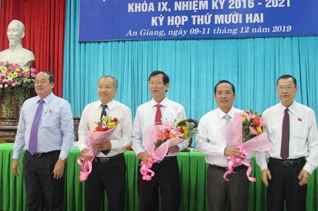 Giám đốc Sở Kế hoạch và Đầu tư tỉnh An Giang giữ chức Phó Chủ tịch tỉnh