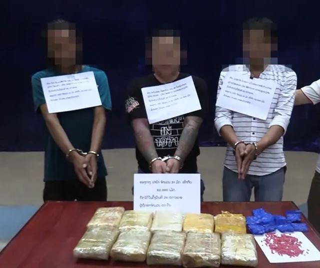 Chặn đứng nhóm đối tượng đang vận chuyển hàng chục nghìn viên ma túy về Việt Nam