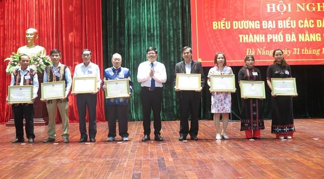 Đà Nẵng: Biểu dương đại biểu các dân tộc thiểu số