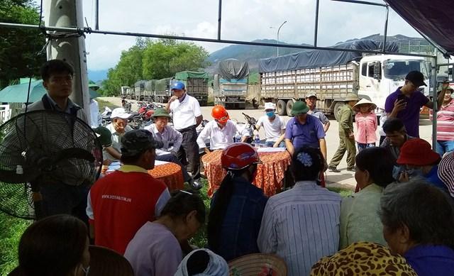 Quảng Nam: Họp dân sau sự cố môi trường tại nhà máy cồn Đại Tân