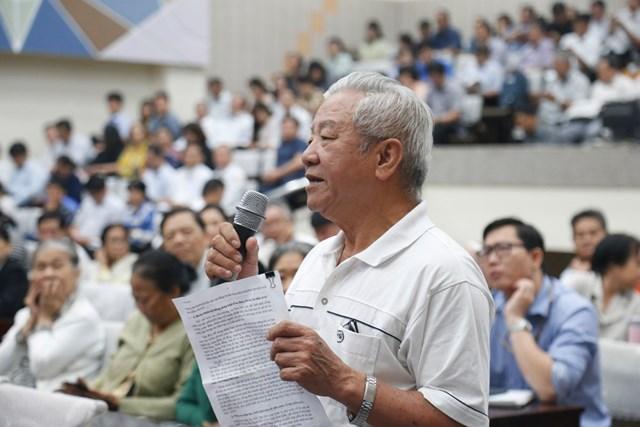 TP Hồ Chí Minh: Cử tri lo lắng nhiều cán bộ xuống cấp, tham nhũng