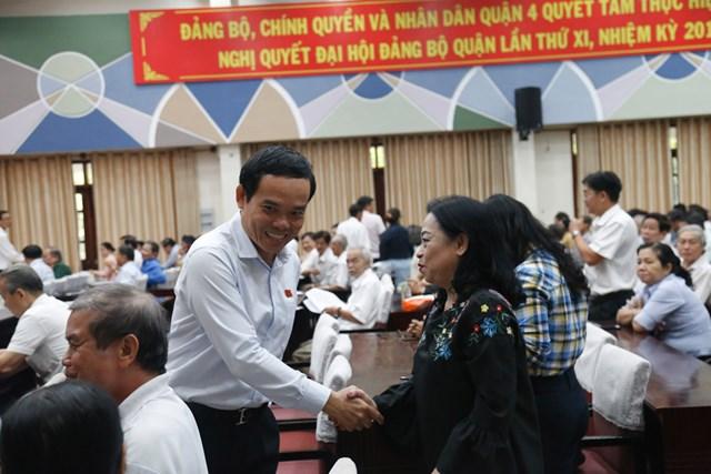 TP Hồ Chí Minh: Cử tri lo lắng nhiều cán bộ xuống cấp, tham nhũng - 1