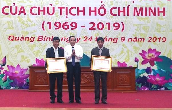 Quảng Bình: 50 năm thực hiện Di chúc của Chủ tịch Hồ Chí Minh