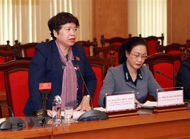 Ủy ban Về các vấn đề xã hội của Quốc hội làm việc với Ban Chỉ đạo phòng, chống Covid-19 tỉnh Vĩnh Phúc