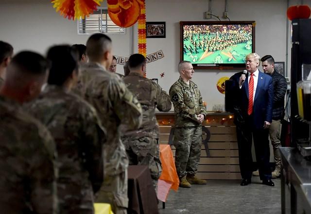 Tổng thống Mỹ bí mật tới thăm Afghanistan