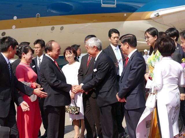 Thủ tướng Nguyễn Xuân Phúc dự Lễ đăng quang của Nhà vua Nhật Bản Naruhito