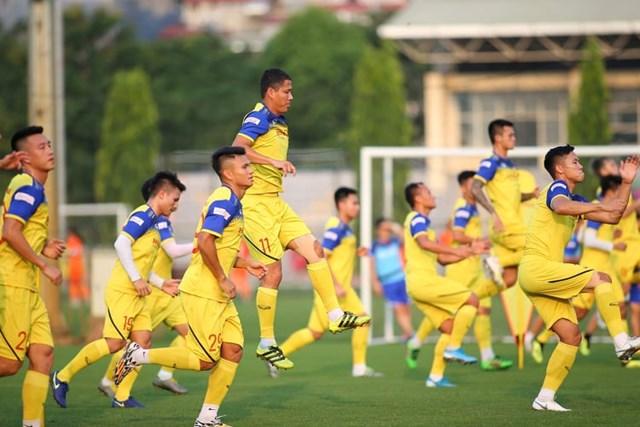 Tuyển Việt Nam tự tin trước trận gặp Malaysia