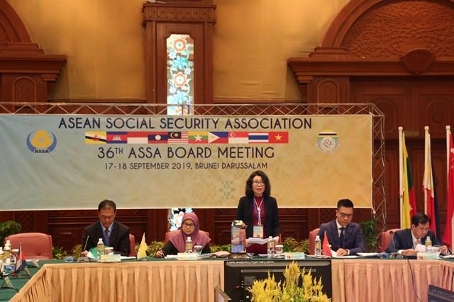 Hội nghị Ban chấp hành Hiệp hội An sinh xã hội ASEAN 36