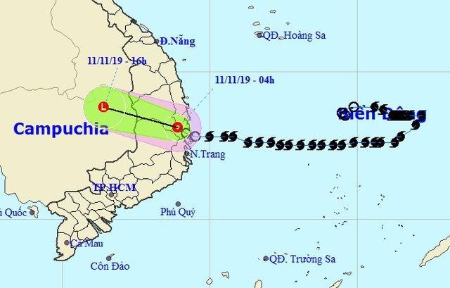 Sau bão, Tây Nguyên và Đông Nam Bộ có nơi mưa rất to