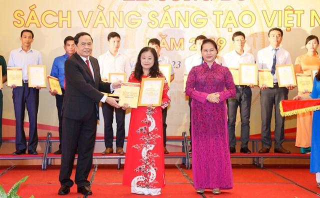 Vinh danh 74 công trình tiêu biểu trong Sách vàng Sáng tạo Việt Nam năm 2019 - 3