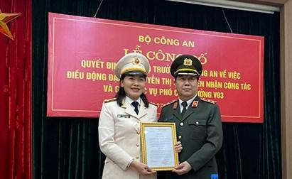 Phó Giám đốc Công an tỉnh Đắk Lắk được bổ nhiệm Phó Cục trưởng Công an