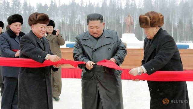Ông Kim Jong-un khai trương 'thành phố của nền văn minh hiện đại' cạnh núi thiêng - 1