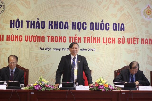 Sớm khẳng định thời đại Hùng Vương trong lịch sử Việt Nam