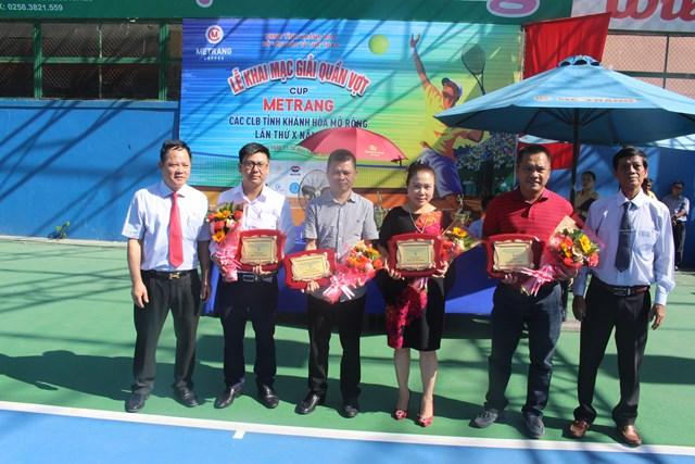 Khai mạc Giải quần vợt các CLB Khánh Hòa mở rộng