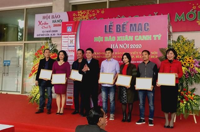 Báo Đại Đoàn Kết giành giải B gian trưng bày Hội báo Xuân Hà Nội