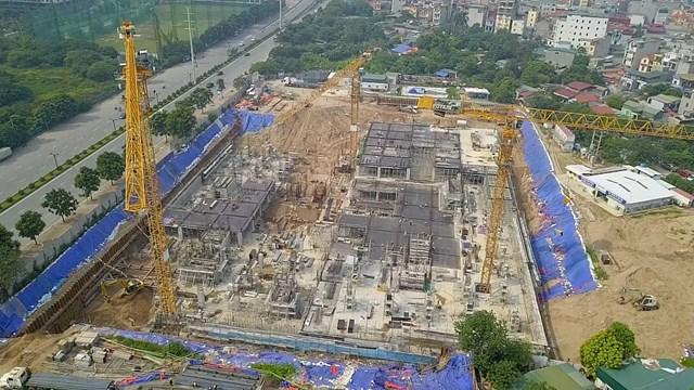 Bệnh viện xây không phép giữa lòng Hà Nội