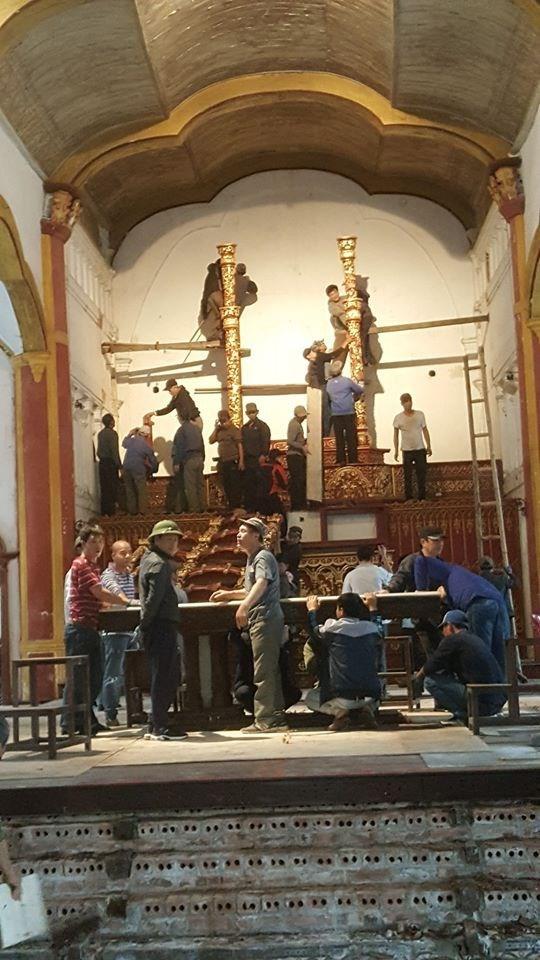 Nam Định: Chuẩn bị hạ giải, xây mới nhà thờ Bùi Chu - 2