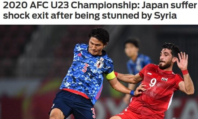 Báo châu Á sốc nặng vì U23 Nhật Bản bị loại sớm