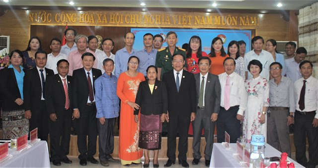 Tăng cường trao đổi kinh nghiệm giữa Mặt trận tỉnh Quảng Nam và Sê Kông - 2