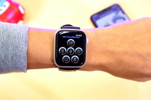 Trải nghiệm BIDV SmartBanking ngay trên đồng hồ Apple Watch - 2