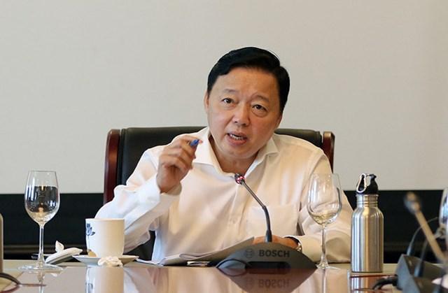 Bộ trưởng Trần Hồng Hà: Cần minh bạch thông tin ô nhiễm tới người dân