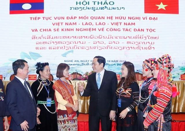 BẢN TIN MẶT TRẬN: Tiếp tục vun đắp mối quan hệ hữu nghị vĩ đại Việt Nam – Lào, Lào – Việt Nam
