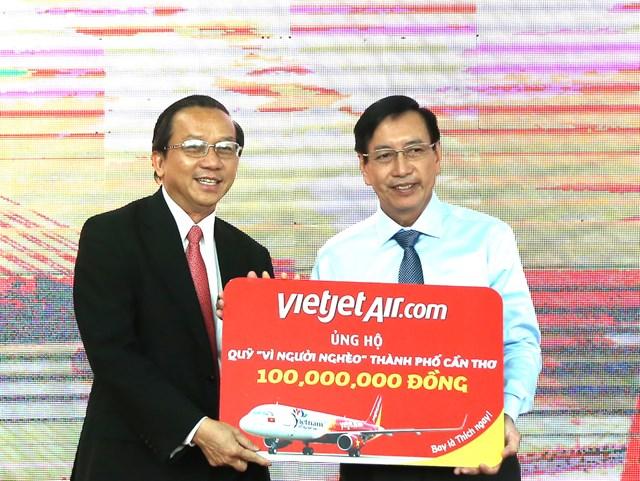 Chủ tịch Trần Thanh Mẫn dự khai trương 2 đường bay Cần Thơ - Seoul/ Đài Bắc - 3