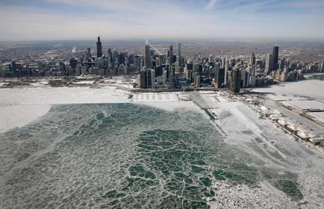 Những bức ảnh ấn tượng về thời tiết trên thế giới khi nhìn từ trên cao - 11